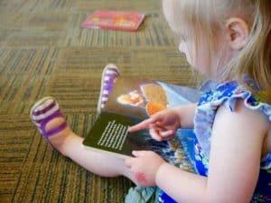 lecture enfant pré-scolaire