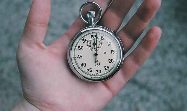 fin de journée chronomètre