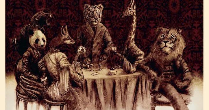 roman graphique l'étrange zoo de laverdens dedieu