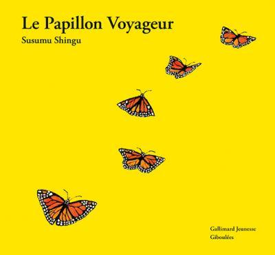papillon monarque migrateur