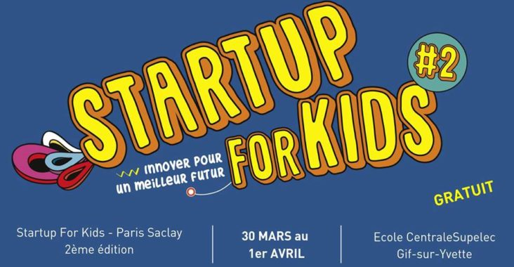 startup for kids affiche