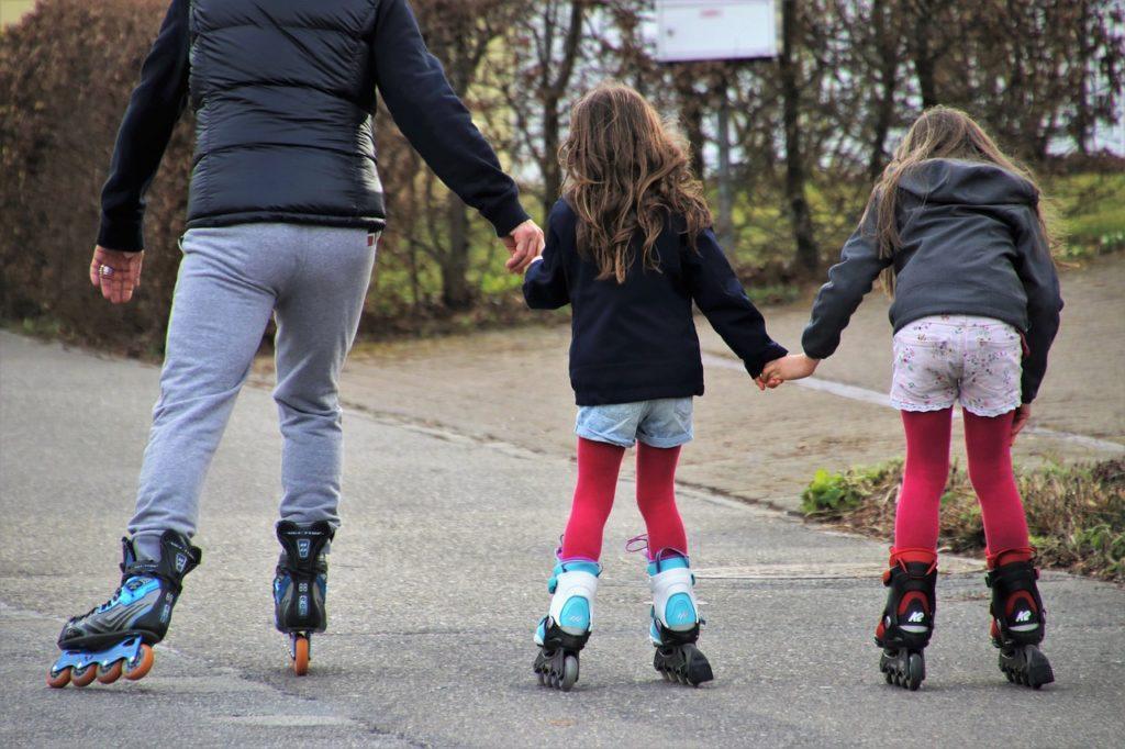 parents en roller