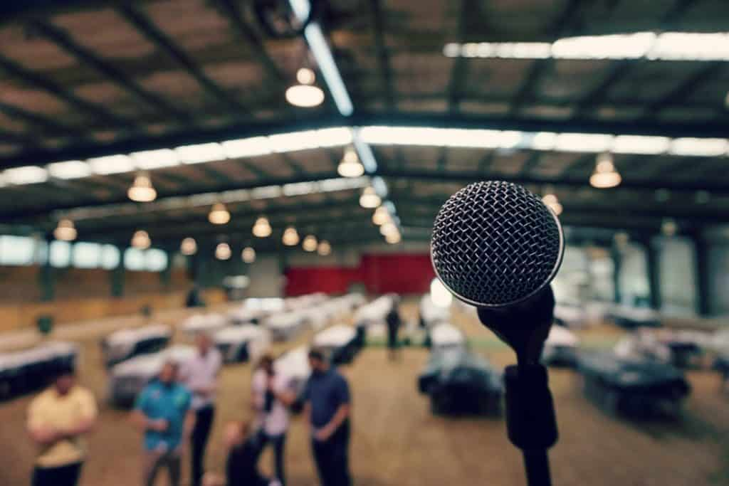 microphone grand oral